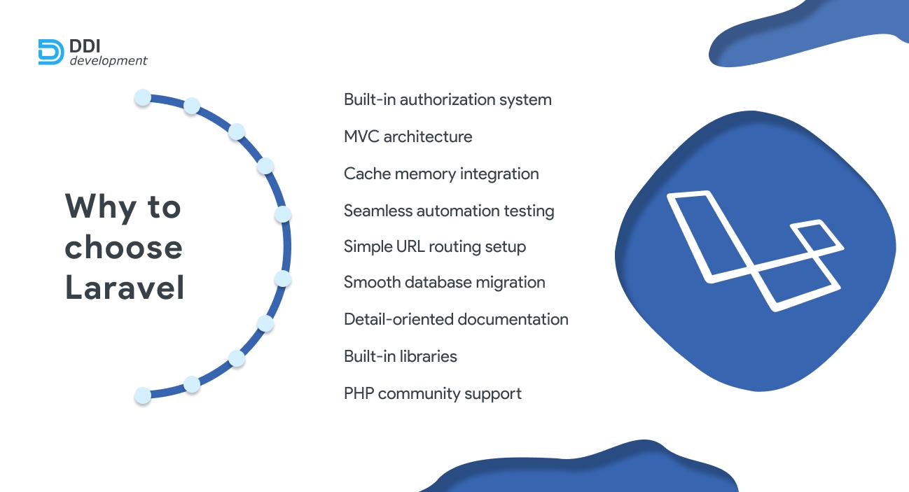 advantages of laravel php framework