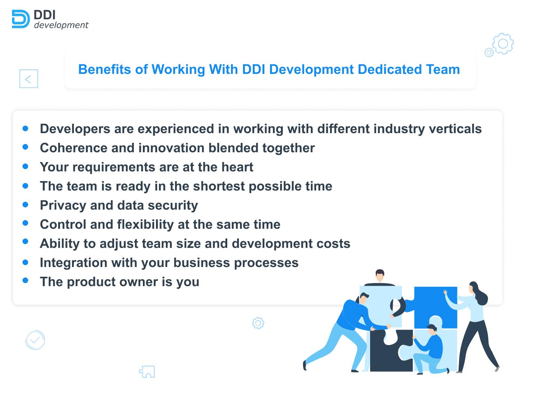 DDI Development dedicated team