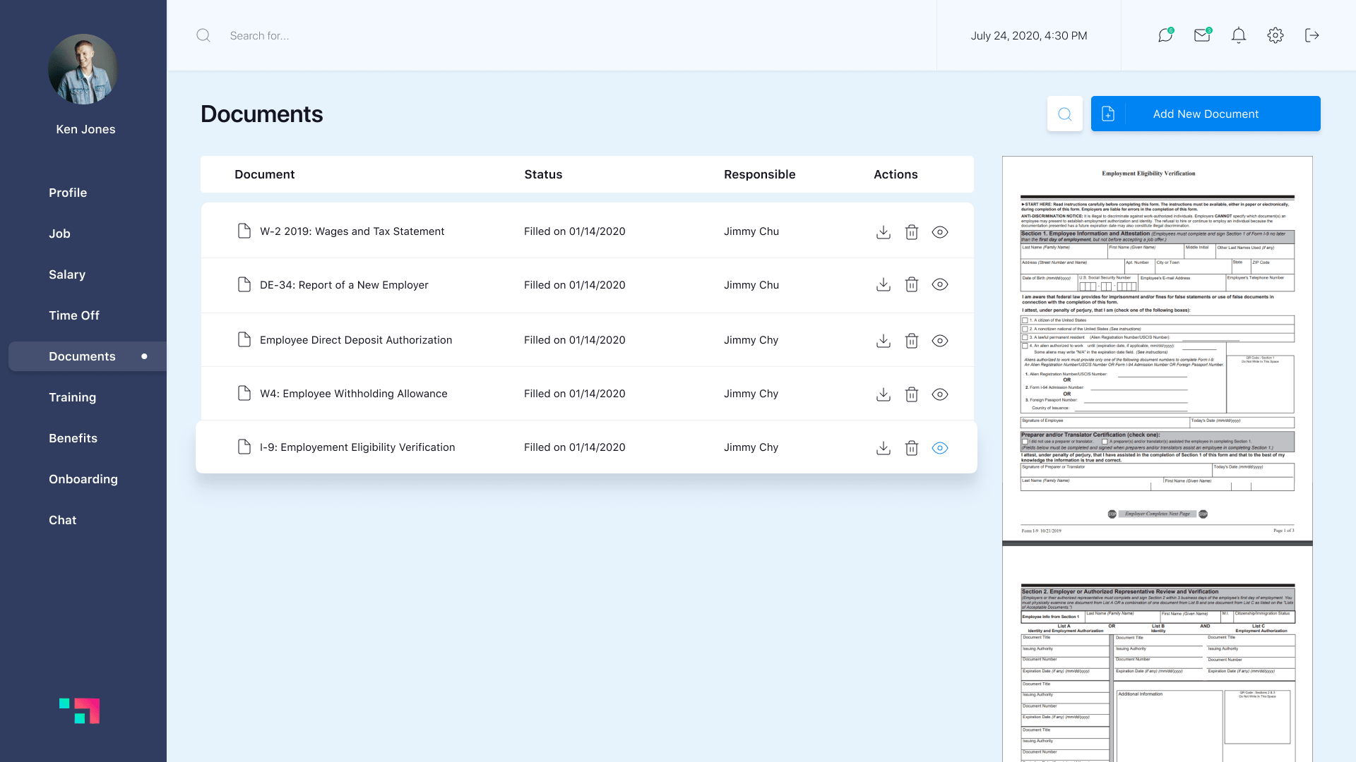 document feature