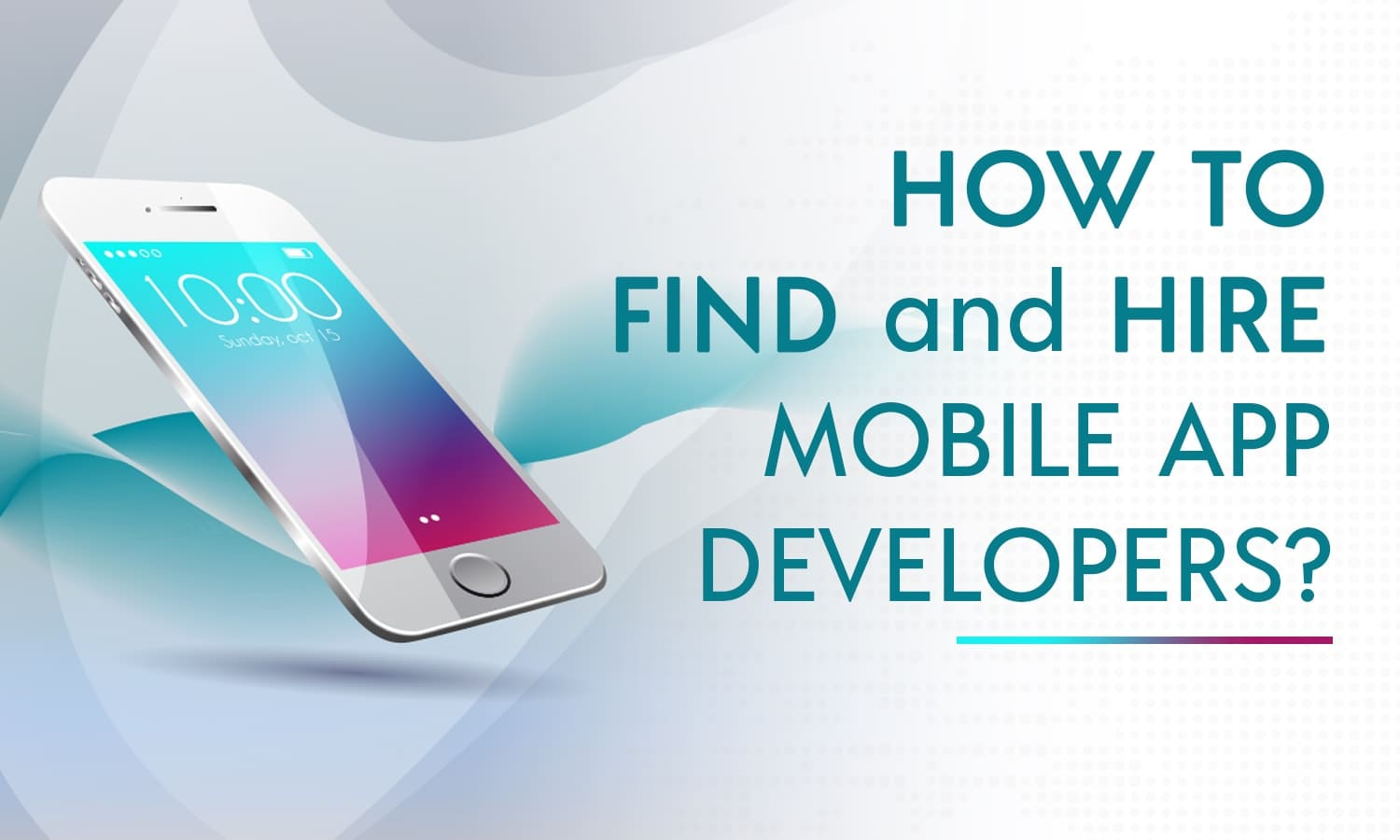 how to find mobile app developer