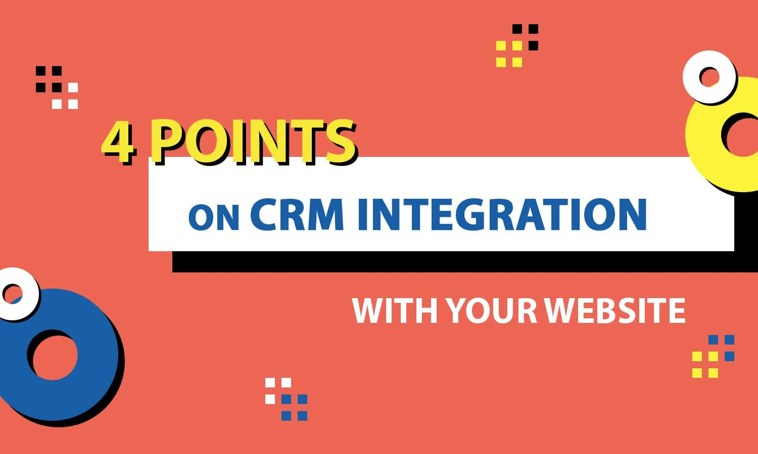 integration CRM with site