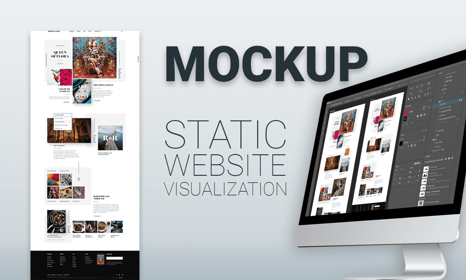 website mockups create