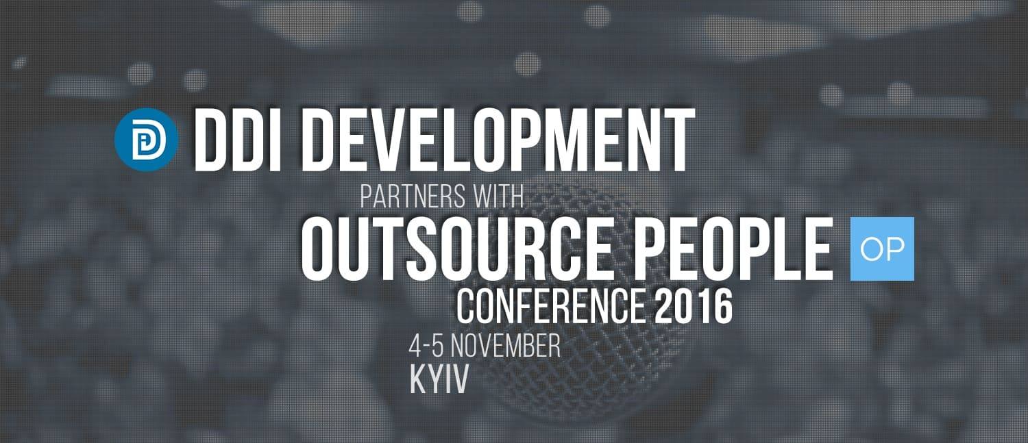 DDI Development partners with conference Outsource People 2016
