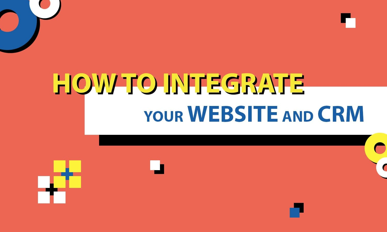 how to integrate website and CRM