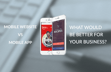 Mobile website vs Mobile app – What would be better for your business? | DDI Development