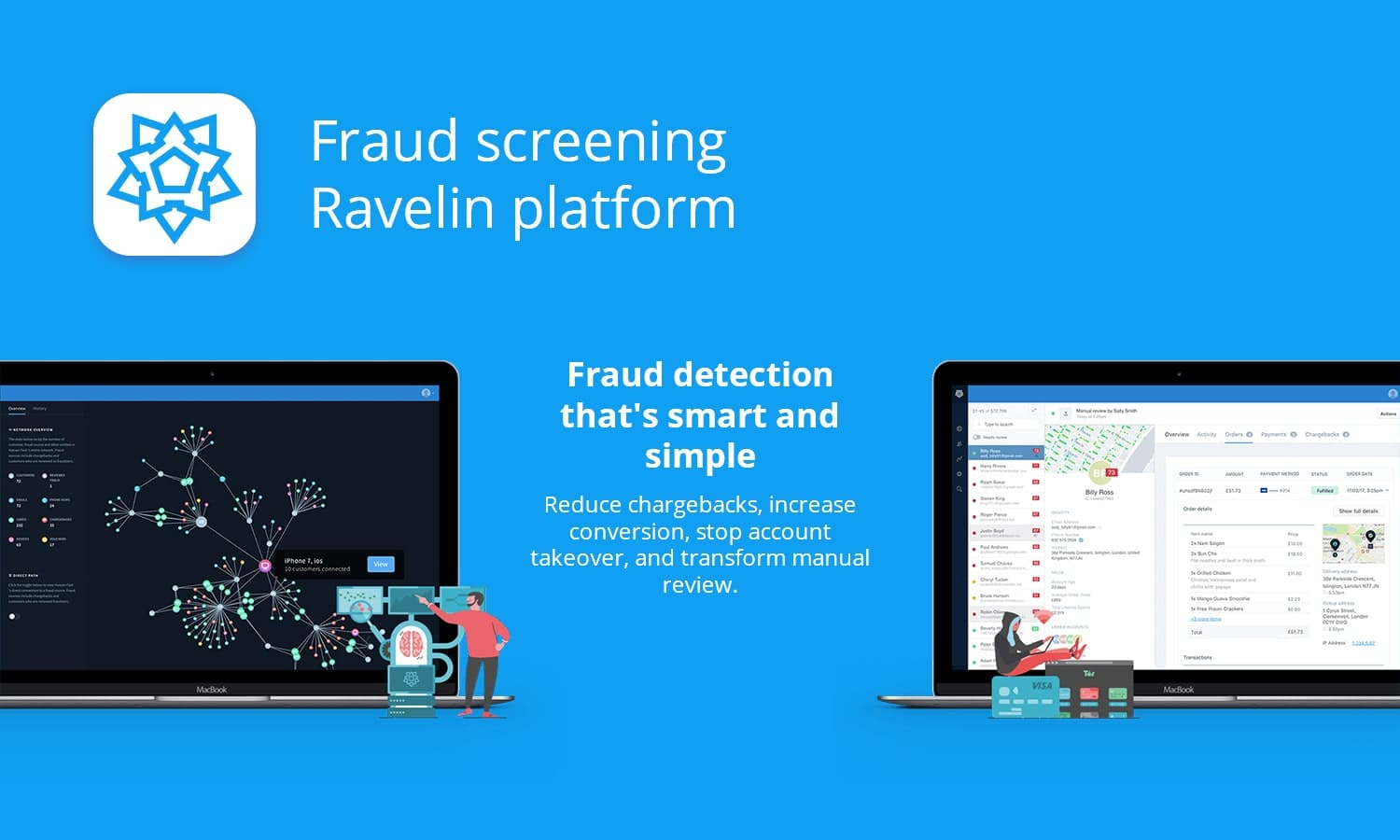screening Ravelin platform