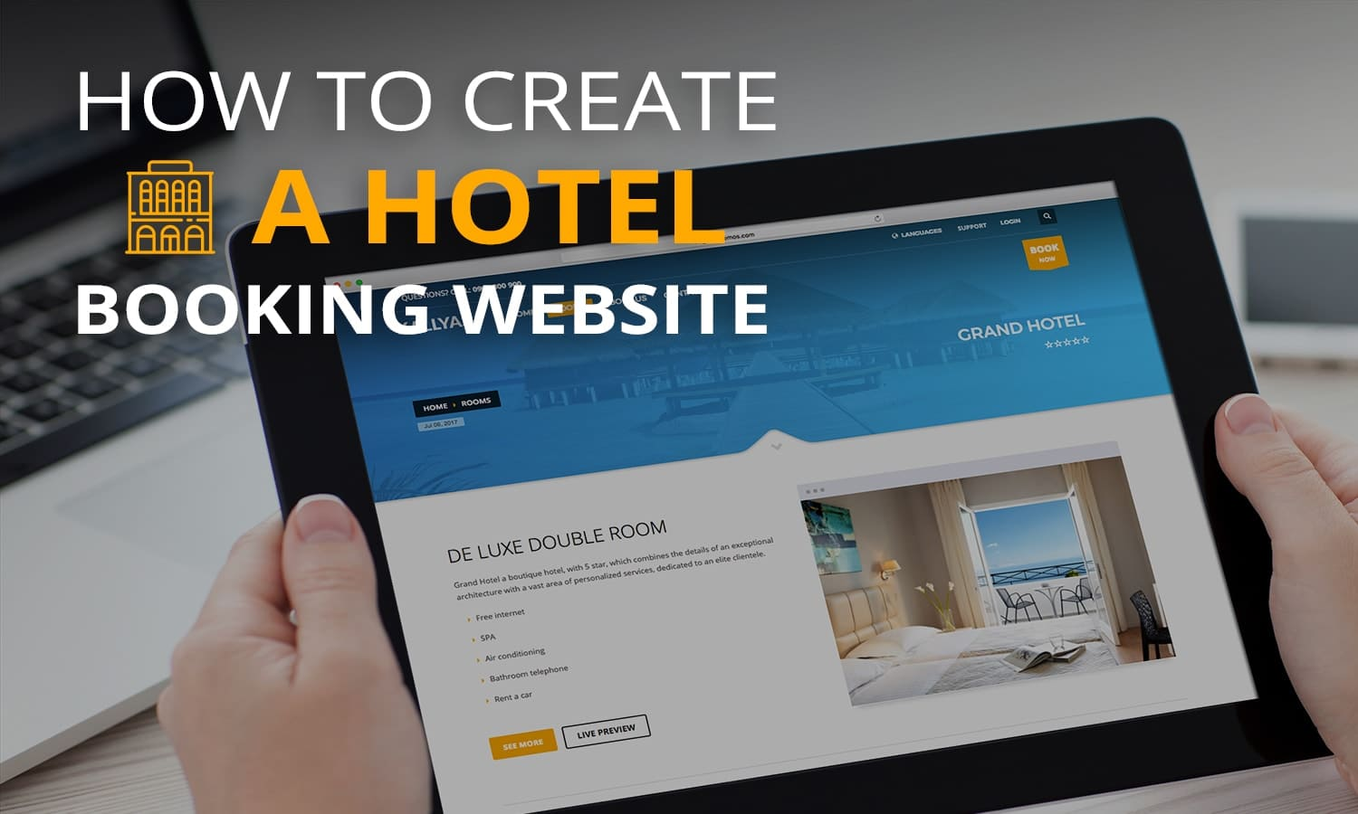 build a booking website
