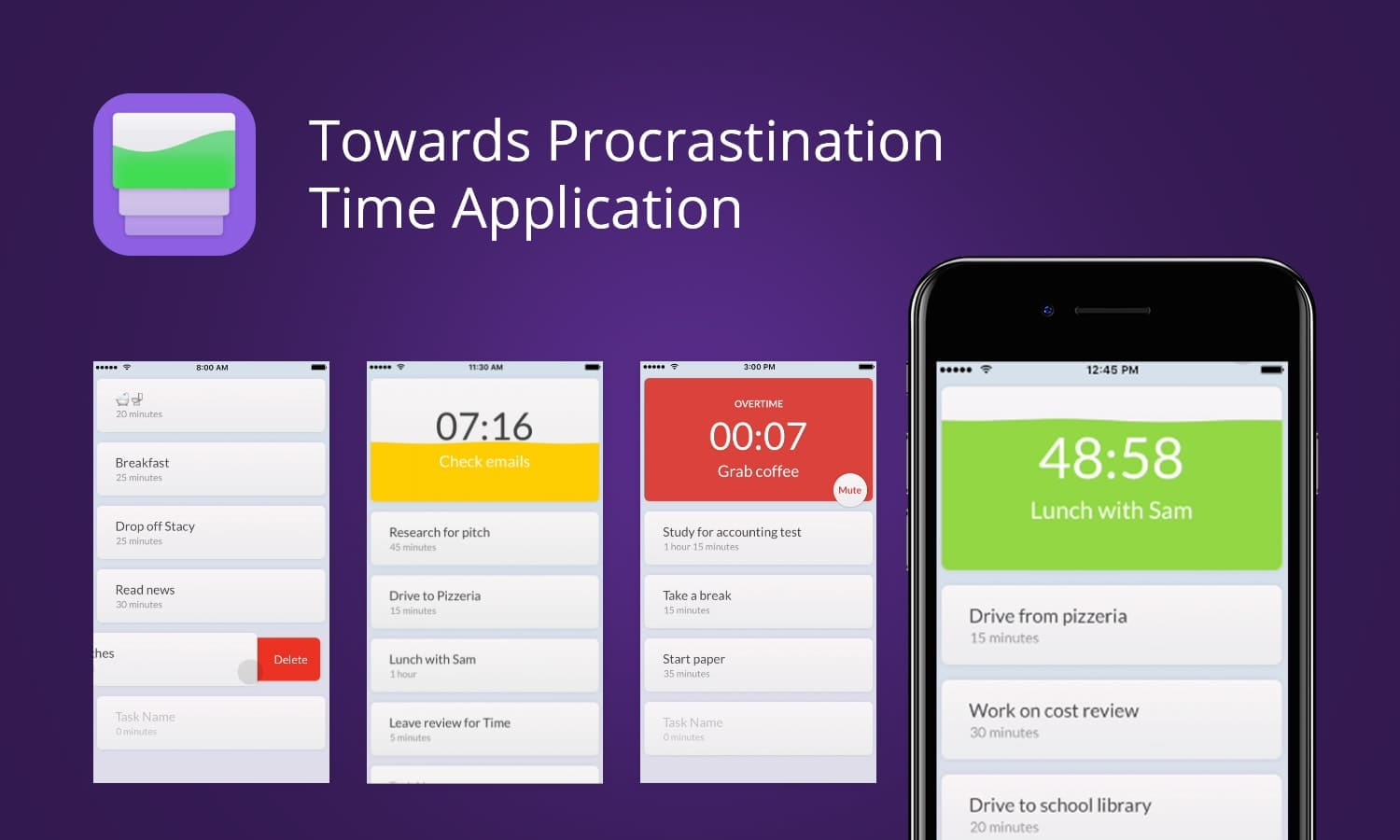 Towards Procrastination Time Application