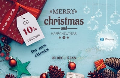 Get 10% discount on all services at DDI Development company in 2018