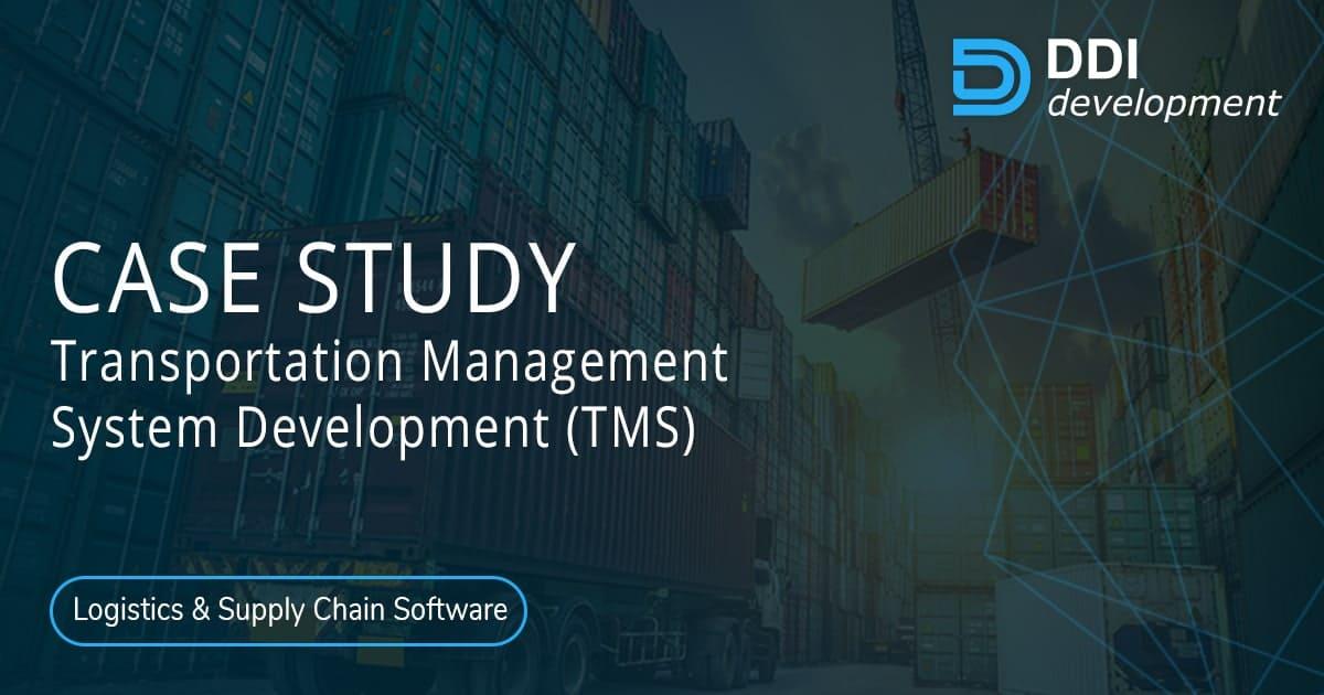 How we have built Transportation Management System (TMS) for